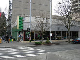 Crocodile Cafe - Exterior of venue (c.2007)