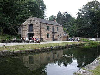 Cromford Wharf - This building on the wharf is now a cafe.