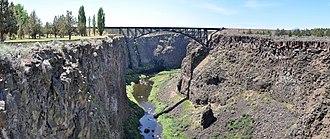 Crooked River (Oregon) - Image: Crooked River Canyon (Oregon) pano