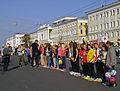 Cross Country of Nation - 2014. Nizhny Novgorod, Russia. Rewarding of Conqurerors at main squaire.jpg