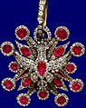 Cross of the Royal Rubingarnitur of the Order of White Eagle of Augustus II the Strong.jpg