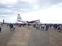 Crowds on the second public day at the 2015 Australian International Airshow 9.jpg
