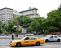 Crown Victorias in Union Square.jpg