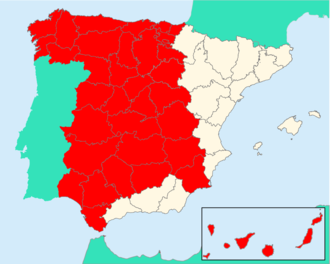 The Crown in modern-day Spain Crown of Castile.png
