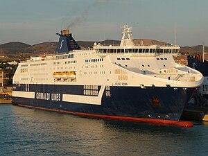 MS Cruise Roma - Image: Cruise Roma Civitavecchia