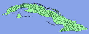 Geography of Cuba - Level-3 administrative divisions in Cuba.