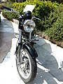 Cuerpo Nacional de Policía (España), motocicleta Sanglas 400 Eléctrica, Policía Armada, FPA 0010 (44227607314).jpg