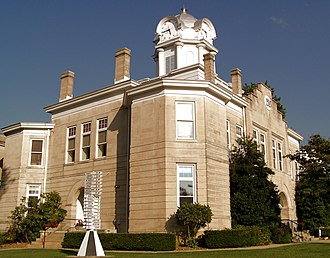 Cumberland County, Tennessee - Image: Cumberland County Courthouse, Crossville TN