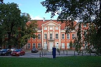 Academy of Fine Arts in Warsaw - Image: Czap 4DSC 1082