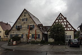 Centre of Leinburg