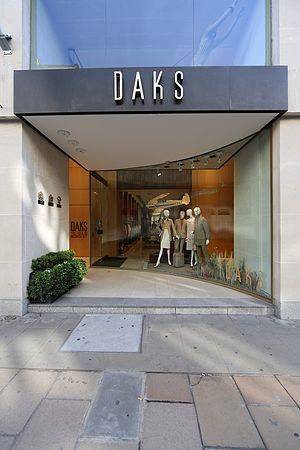DAKS - DAKS flagship store on 10 Old Bond Street