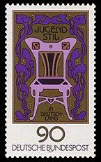 DBP 1977 925 Jugendstil