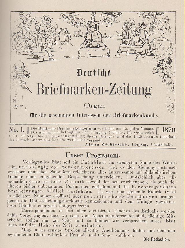 Deutsche Briefmarken Zeitung Wikiwand
