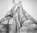 DQuinby Couple allongé crayon graphite sur papier 170x150 cm 2010.jpg