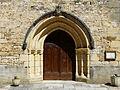 Daglan église portail.JPG
