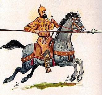 Daylamites - A Daylamite soldier.