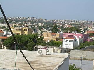 Daliyat al-Karmel Place in Israel