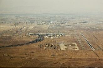 Damascus International Airport - Aerial view of DAM
