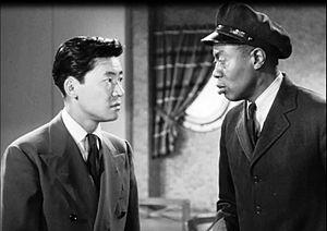 Victor Sen Yung - Victor Sen Yung and Willie Best in Dangerous Money (1946)