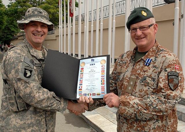 Правительство Дании решило отправить в Афганистан еще 55 военнослужащих