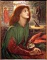 Dante gabriel rossetti, beata beatrix, 1871-72, 02.jpg