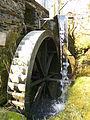 Daubisberger Mühle, Wasserrad.JPG