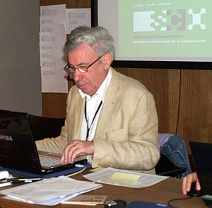 David Levy (chess player) - David Levy at Pamplona 2009 (WCCC – CO – ACGC)