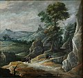 David Teniers - Rocky Landscape with Pilgrims.JPG