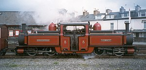 Fairlie locomotive - David Lloyd George of the Ffestiniog Railway