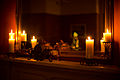 Day 4- A clock and candles (8446449906).jpg