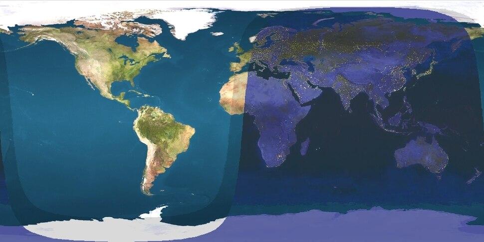 Daylight Map, nonscientific (1800 UTC)