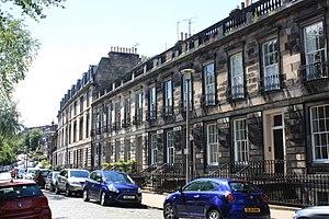 Alexander Buchan (meteorologist) - Dean Terrace, Edinburgh, home of Alexander Buchan