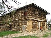 Typical Aksumite architecture - the monastery of Debre Damo.
