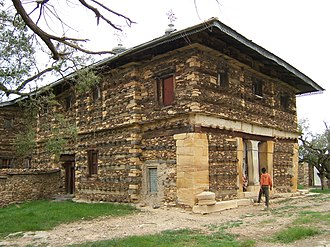 Architecture of Ethiopia - Church of Abune Aregawi at the Debre Damo monastery, constructed around the mid-6th century.