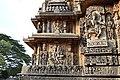 Decorated outer walls Hoysaleswara Temple Halebid (10).jpg