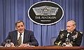 Defense.gov News Photo 120510-D-NI589-110 - Secretary of Defense Leon E. Panetta and Chairman of the Joint Chiefs of Staff Gen. Martin E. Dempsey hold a press conference in the Pentagon on May.jpg