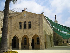 Christianity in Lebanon - Maronite Church of Saidet et Tallé in Deir el Qamar, Lebanon.