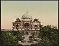 Delhi. Mausoleum of Emperor Humayoon LCCN2017657611.jpg