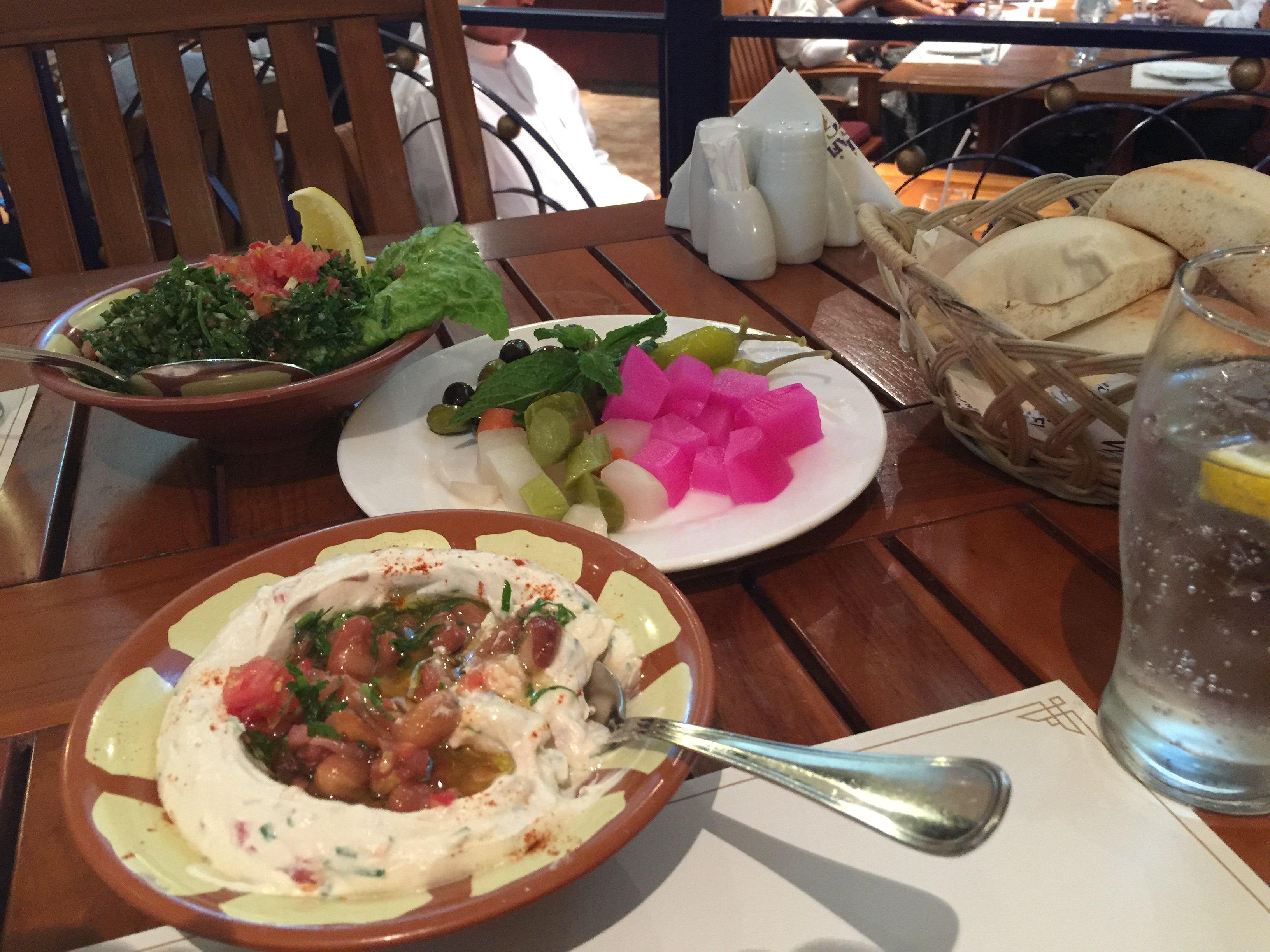 Food at Al Qudra