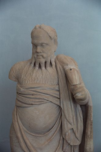 Archaeological Museum of Delos - Silenus, the tutor of Dionysos