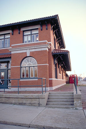 Delta Cultural Center - Helena Depot, main site of the museum
