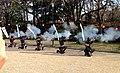 Demonstration of Japanese matchlocks in Nagoya Castle - 7.jpg