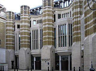 headquarters building of the Department of Health, London, England