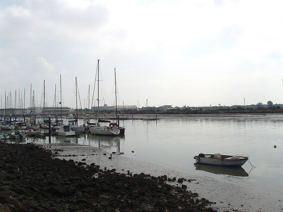 Desembocadura del río Guadalete