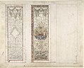 Design for Stained Glass with Marine Motifs MET DP805636.jpg