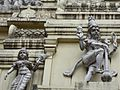 Detail of the Bull Temple, Bangalore, India.jpg