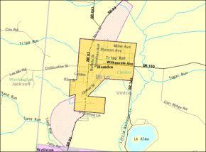 Detailed map of Hamden in Ohio.png