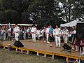 Detva, Folklora festo 2011, grupo sur eta scenejo.jpg