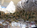 Deutsches Museum Verkehrszentrum - Matterhorn Gotthard Bahn Model railway exposition.jpg