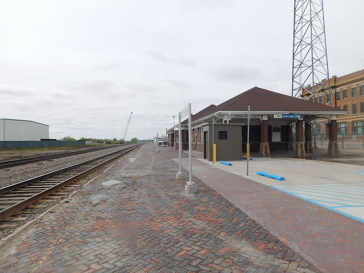 Devils Lake Nd >> Devils Lake station - Wikipedia